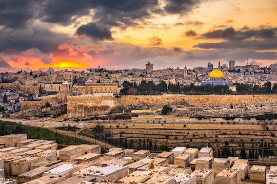 Tour della città vecchia e nuova di Gerusalemme