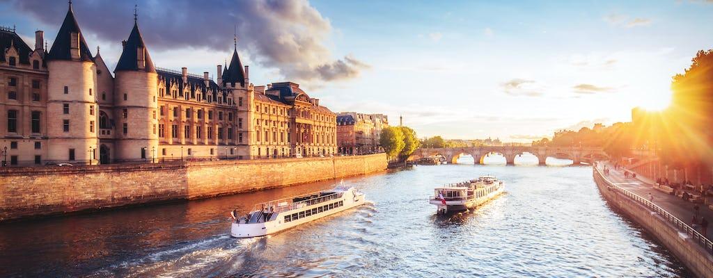 Paris city tour with Seine cruise