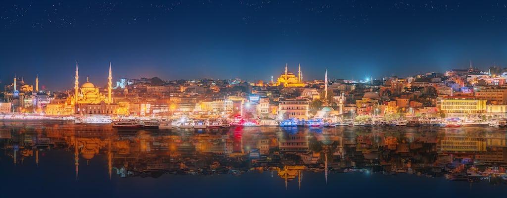 Crucero por el Bósforo con todo incluido con cena y espectáculo nocturno turco