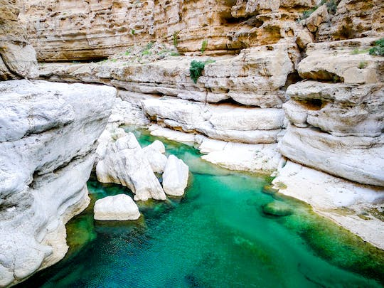 Private tour of Bimah Sinkhole and Wadi Shab on 4x4