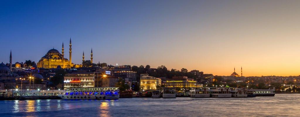 Crucero por el Bósforo con cena y espectáculo nocturno turco