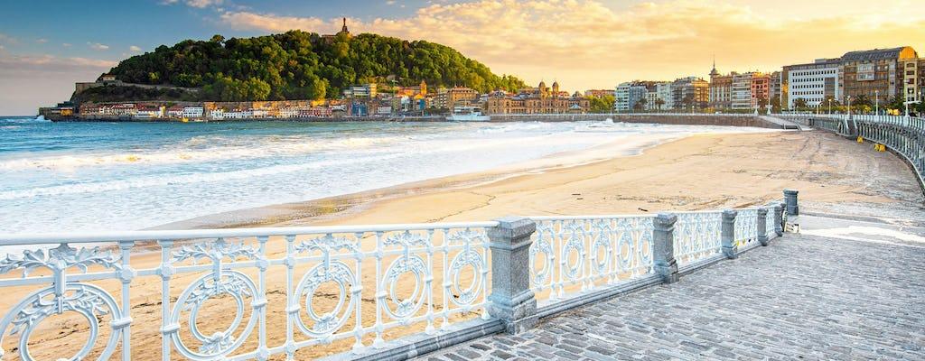 Excursão de um dia a São Sebastião saindo de Bilbau