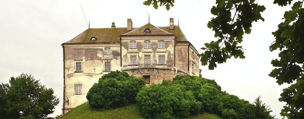 Tour pelos três castelos em torno de Lviv