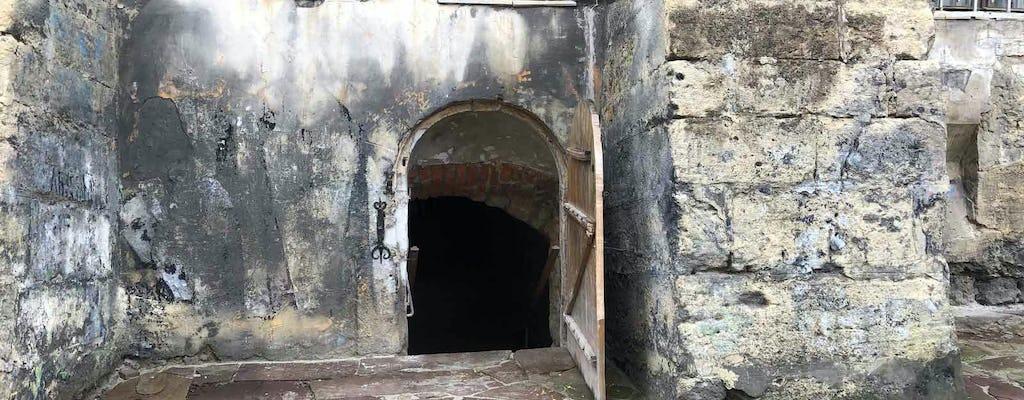 Visite des chambres souterraines cachées de Lviv