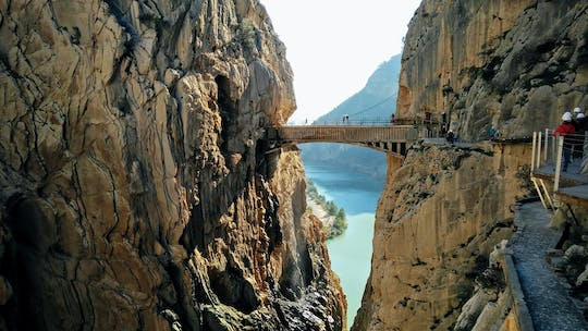 Caminito del Rey tour from Málaga with picnic