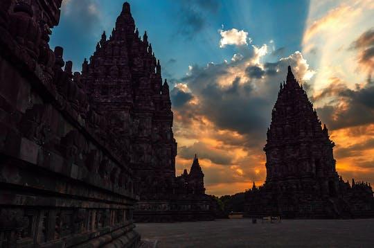 Excursión de medio día al templo de Prambanan al atardecer