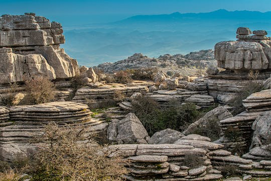 Torcal de Antequera hiking tour from Málaga