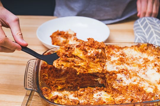 Online masterclass on Italian lasagne from scratch