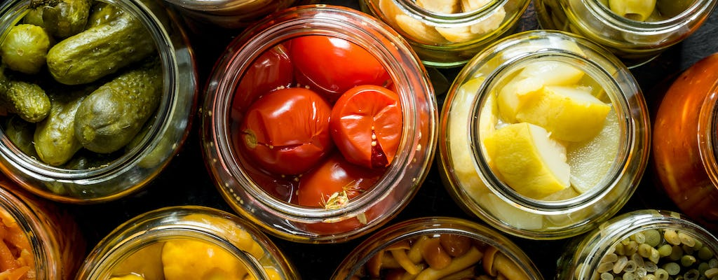 Online masterclass on fruit and vegetable preserves
