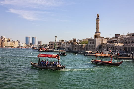 Dubai Creek evening dhow cruise with dinner
