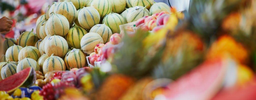 Рынок экскурсий и кулинарный мастер-класс с французским шеф-поваром