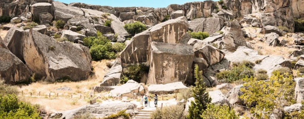 Gobustan and Mud Volcanoes tour from Baku
