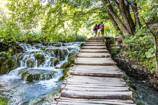 Plitvice Lakes guided day-trip from Rovinj