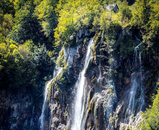 Plitvice Lakes guided day-trip from Pula
