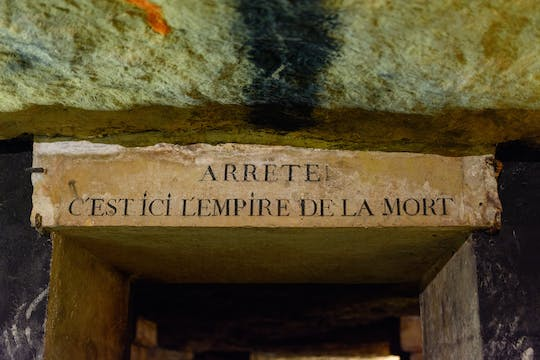 Skip-the-line guided tour of Paris Catacombs