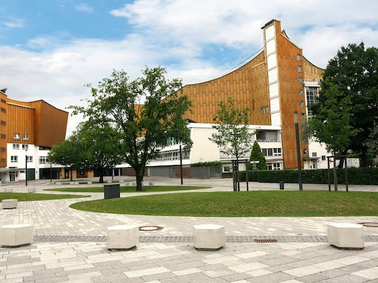 Berlin's cultural forum private tour