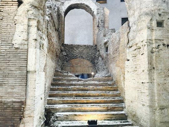 Excursão de guia de áudio subterrâneo da Piazza Navona