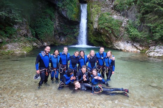 Canyoning experience in Bled