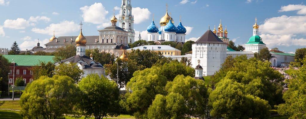 Excursão ao Mosteiro de Sergiev Posad saindo de Moscou