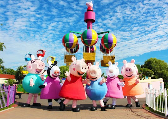 Peppa Pig World Express z Londynu