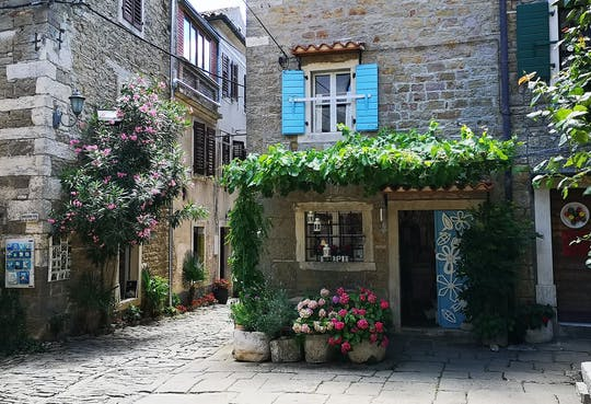 Istrian hilltop villages tour from Rovinj