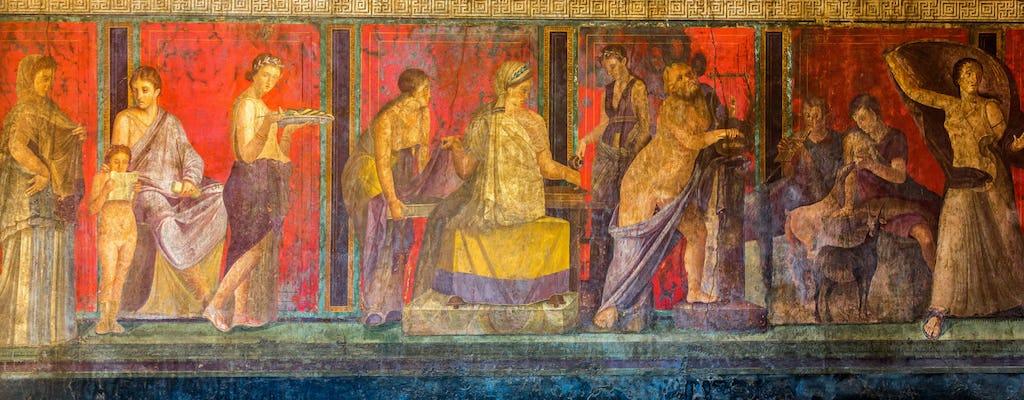 Bilhete pula fila de Pompeia com experiência multimídia
