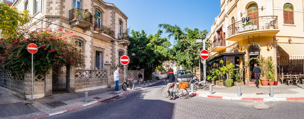 Modern Tel Aviv tour including Neve Tzedek, Bauhaus and street art