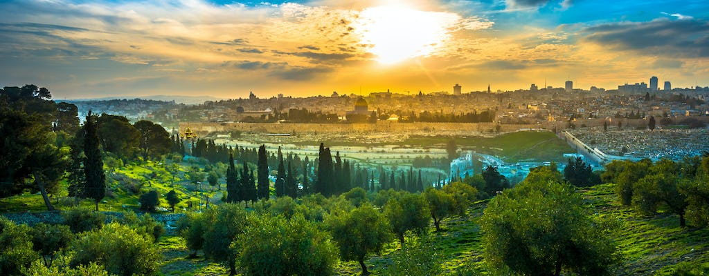 Jerusalem's Mount of Olives walking tour
