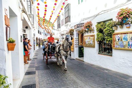 Market & Mijas from Marbella & Estepona