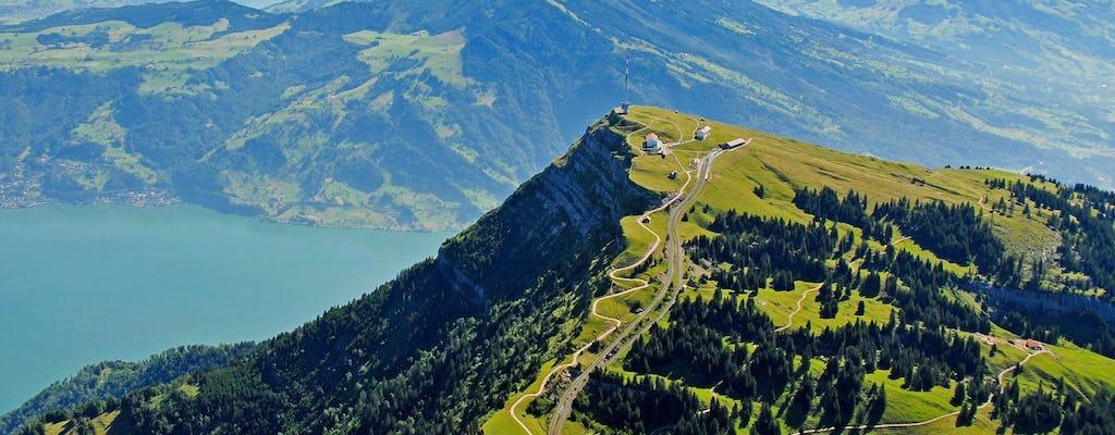 Viagem de ida e volta clássica de Rigi de Lucerna