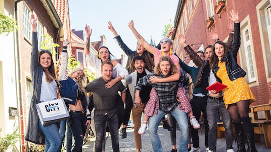 Self-guided party scavenger hunt in Bochum