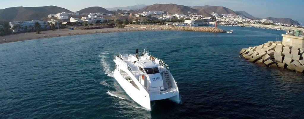 Boat trip from Carboneras - Ticket Only