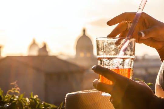 Wieczorna wycieczka po Rzymie wózkiem golfowym z aperitivo