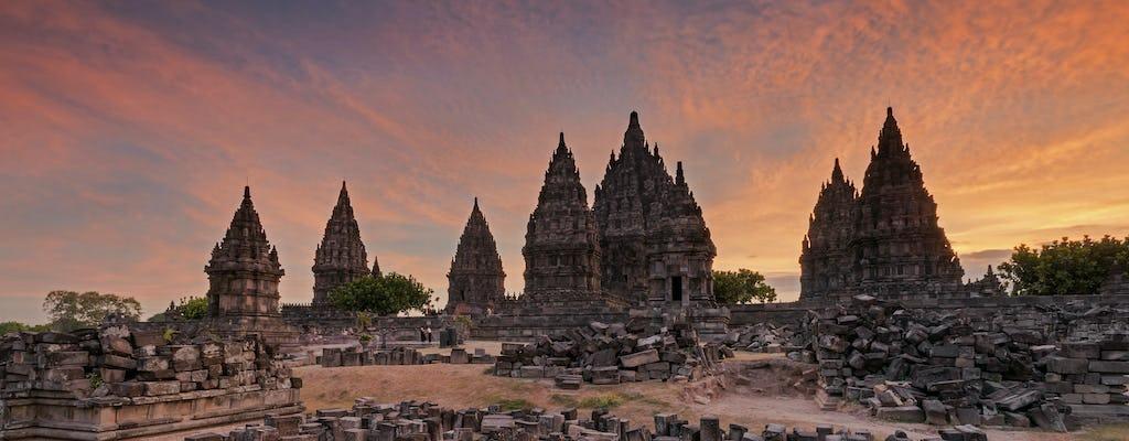 Excursão de meio dia a Prambanan e templos