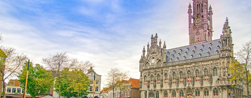 Walk and explore Middelburg with a self-guided city trail