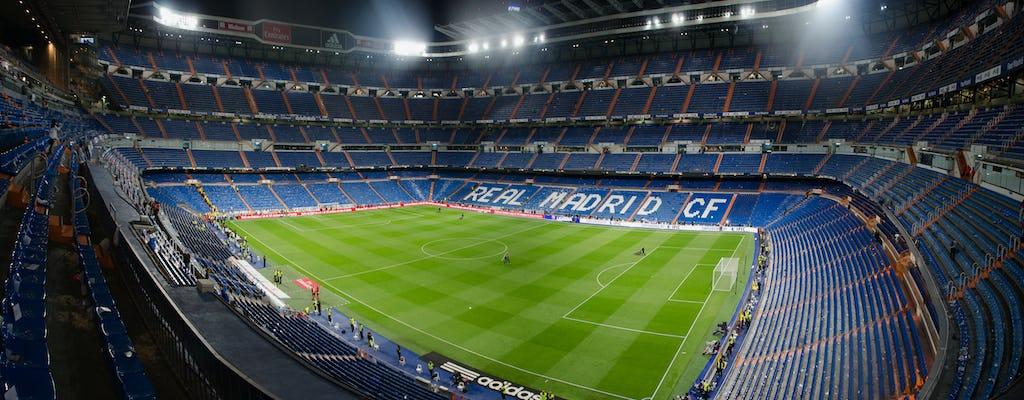 Entradas sin colas al estadio Santiago Bernabéu y visita guiada