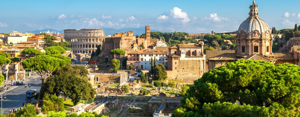 Full-day tour of Rome with Colosseum, Vatican Museums and virtual reality
