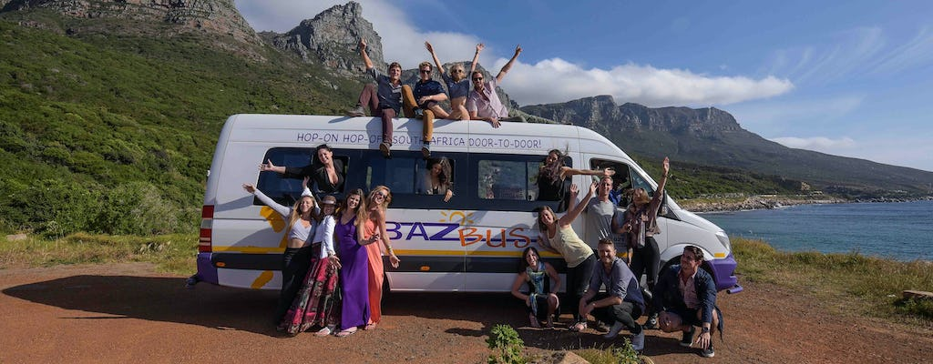 Multiday hop-on hop-off bus travel pass in South Africa