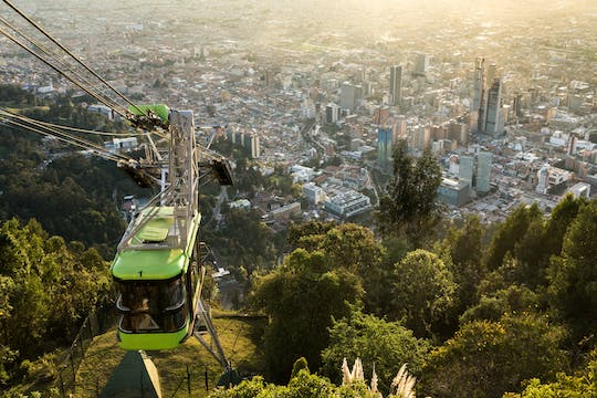 Bogotá city tour with Monserrate Sanctuary