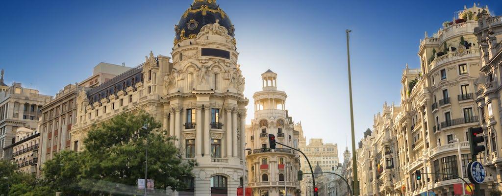Madrid guided walking tour