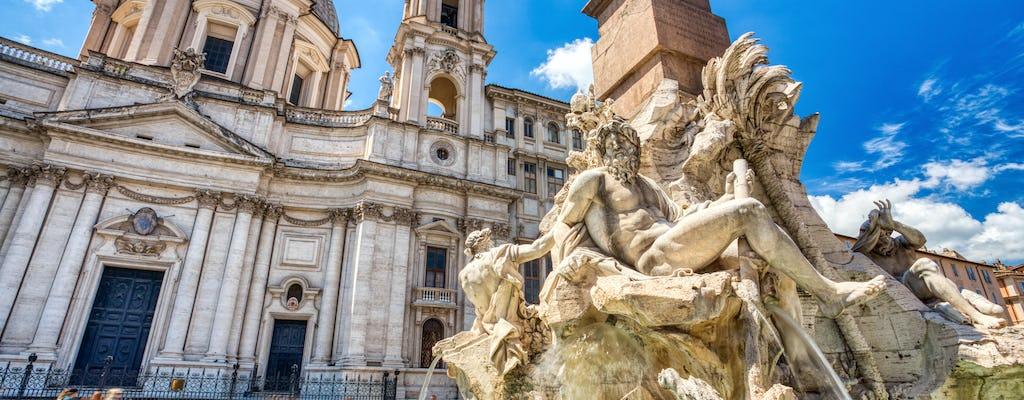 Tour privato di Roma dal porto di Civitavecchia con autista