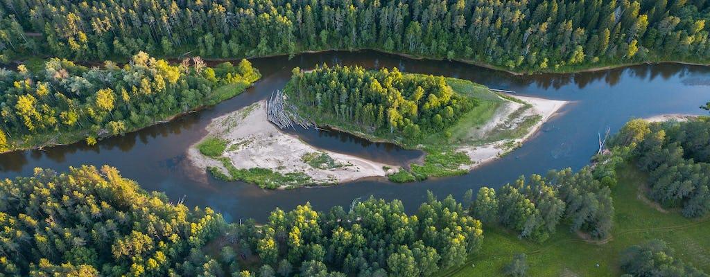 Privéwandeling langs de rivier Gauja en Loja vanuit Riga
