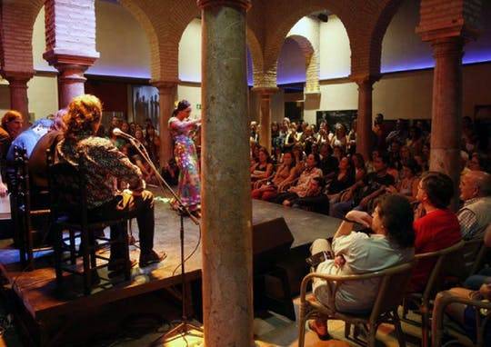 Flamenco-Show im Flamenco-Tanzmuseum
