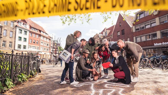 Crime scavenger hunt in Düsseldorf