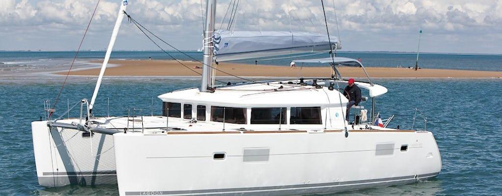 Ria Formosa private catamaran