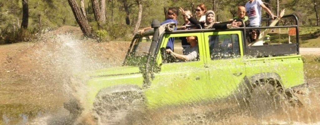 Jeepsafari en Ucansu-watervallen dagtour vanuit Antalya