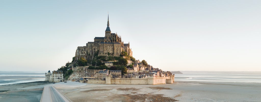 Mont Saint-Michel and bay tour from Paris by high-speed train