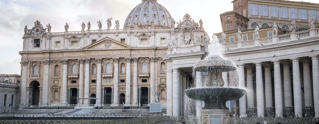 Best of Rome and Vatican in one day with transfers and lunch