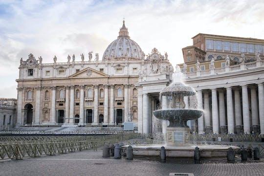 Najlepsze atrakcje w Rzymie i Watykanie w jeden dzień z transferami i obiadem