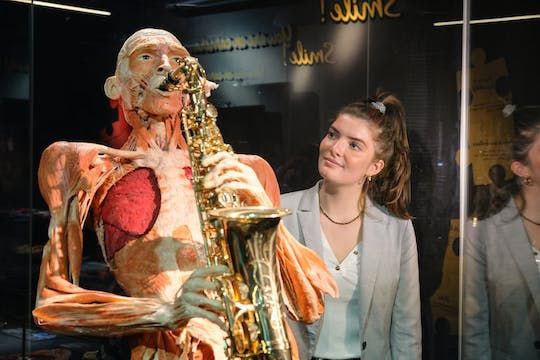 Skip-the-line ticket Body Worlds of Amsterdam: The Happiness Project